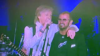 Paul McCartney and Ringo Starr