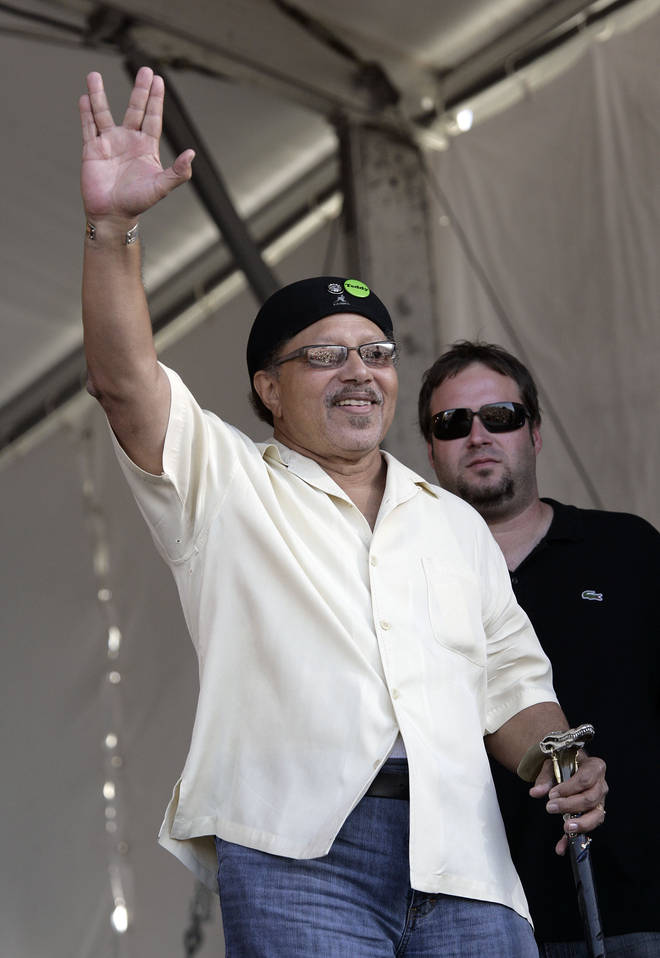 Art Neville was known to his fans as 'Poppa Funk'