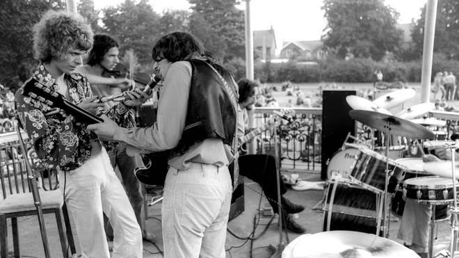 David Bowie's bandstand in Beckenham