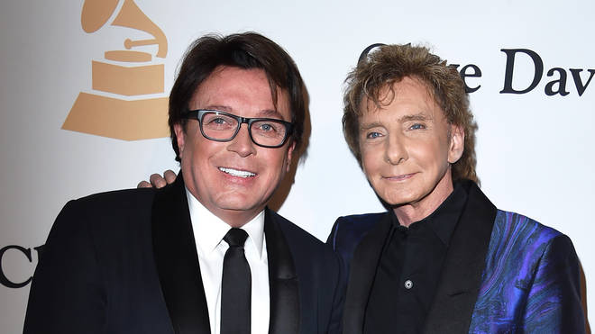 Barry Manilow and husband Garry Kief