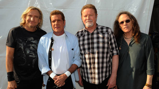 The Eagles in 2012 (Joe Walsh, Glenn Frey, Don Henley and Timothy B Schmit)