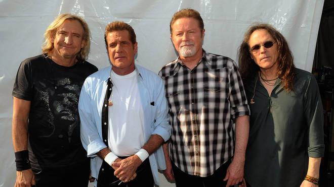 The Eagles in 2012 (Joe Walsh, Glenn Frey, Don Henley and Timothy B Schmit)