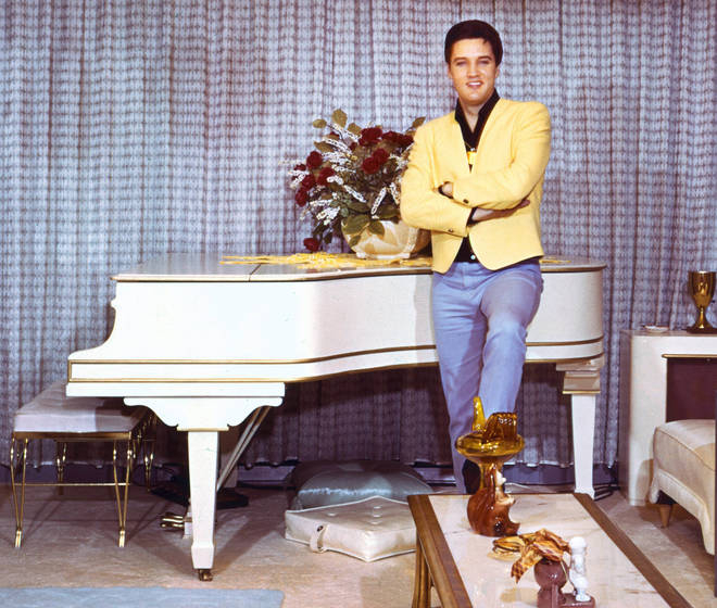 Elvis Presley at home in 1965