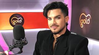 Adam Lambert speaking to Gold Radio