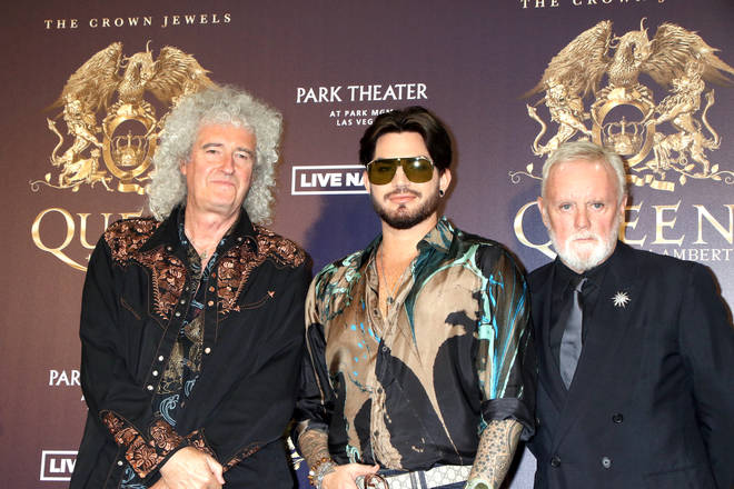 Queen: Brian May with Adam Lambert and Roger Taylor