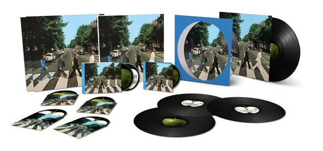 The Beatles' Abbey Road 50th anniversary edition