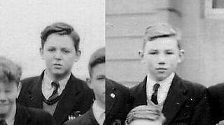 Paul McCartney and Peter Sissons