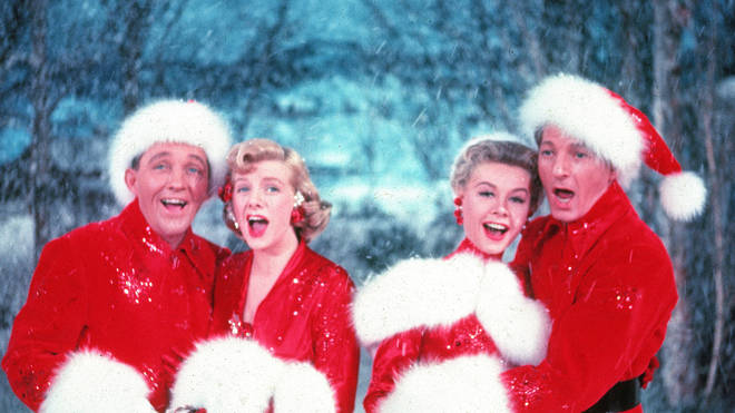 Bing Crosby starring in White Christmas