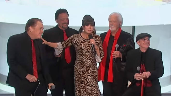 The Osmonds and Marie