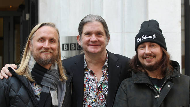 Alex, Wesley and Roy Jr in 2017