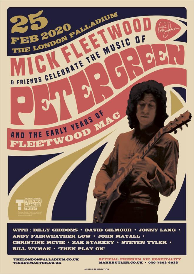 Peter Green concert poster