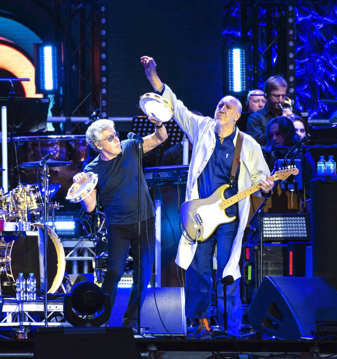 The Who: Roger Daltrey and Pete Townshend