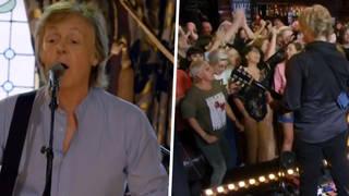 Paul McCartney does Carpool Karaoke