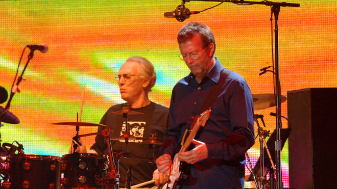 Eric Clapton and Ginger Baker in 2005